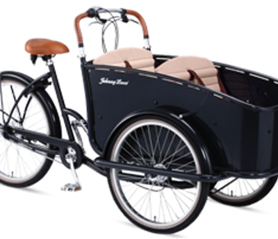 johnny loco Cargo Brighton Bakfiets