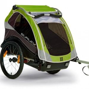 burley-fietskar-cub-met-cove-groen