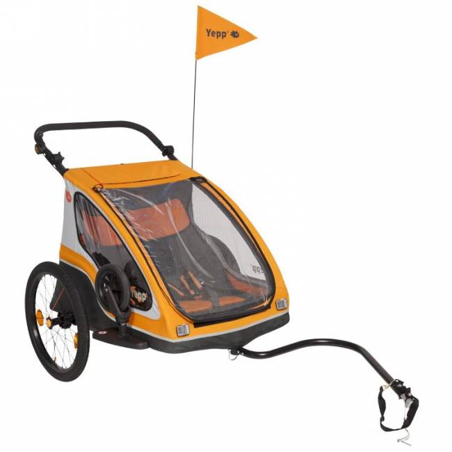 Yepp Duo Orange Fietskar