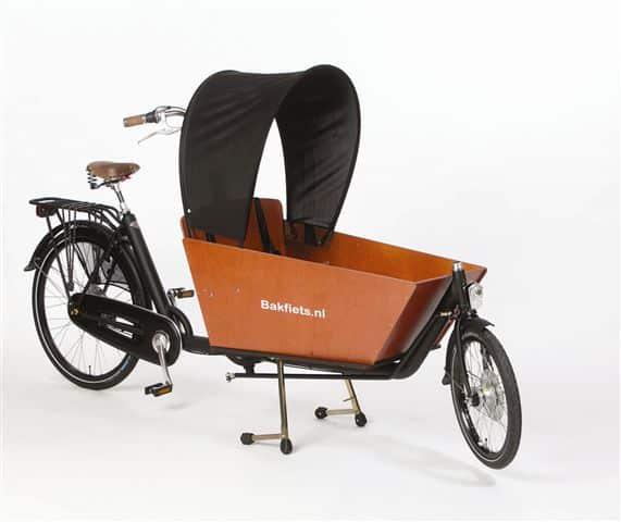 Zonnetent Cargobike long en short